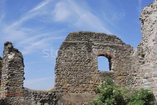 Castle ruin Stock photo © manfredxy