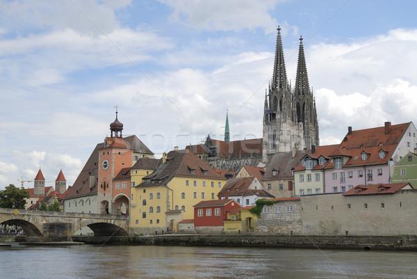Unesco világ örökség vízpart Duna folyó Stock fotó © manfredxy