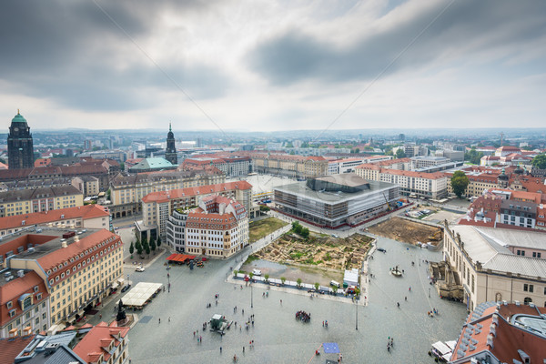 View over Dresden Stock photo © manfredxy