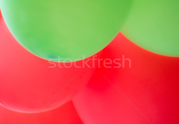 Abstract red and green ballon background Stock photo © manfredxy