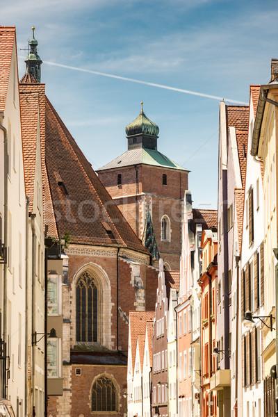 Minster of Ingolstadt Stock photo © manfredxy