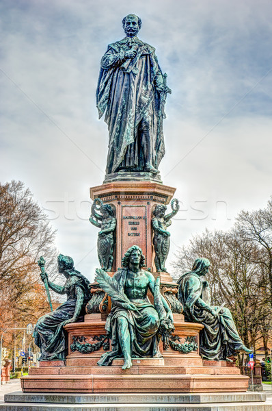 King Max monument in Munich Stock photo © manfredxy