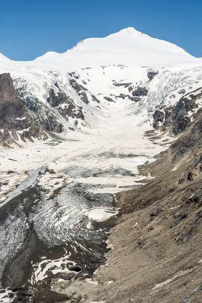 Foto d'archivio: Ghiacciaio · alpi · Austria · gruppo · montagna · primavera