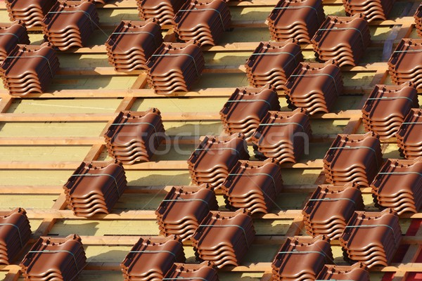 Roof Tiles Stock photo © manfredxy