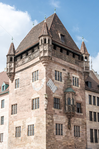 Medieval residencia torre Alemania edificio arquitectura Foto stock © manfredxy