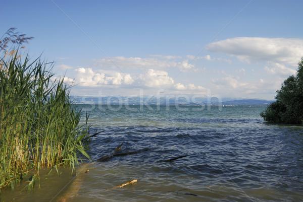 See Himmel blau Europa Freien Deutschland Stock foto © manfredxy