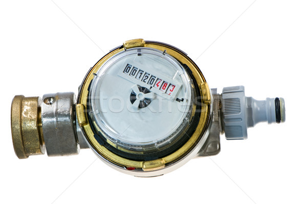 Isolated water meter instrument Stock photo © manfredxy