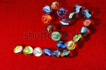 glass marbles Stock photo © manfredxy