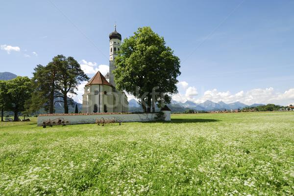 St. Coloman church Stock photo © manfredxy
