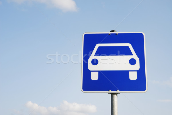 Traffic Sign Stock photo © manfredxy