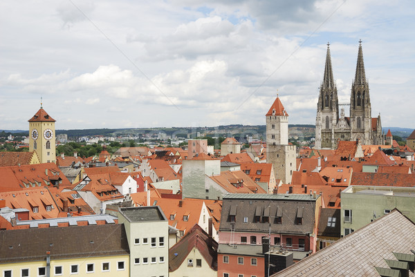 World Heritage Site Regensburg Stock photo © manfredxy
