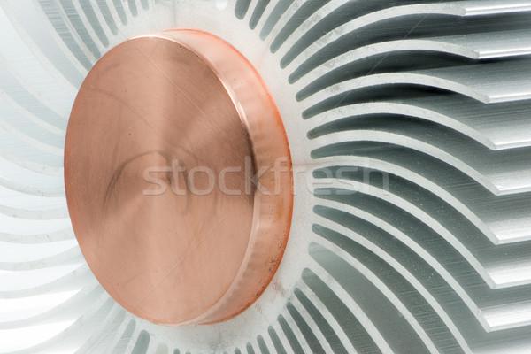 Streszczenie makro szczegół metaliczny przemysłowych wzór Zdjęcia stock © manfredxy