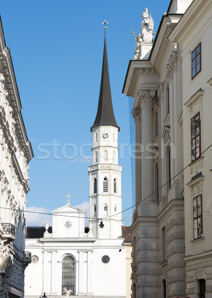 Michaelerkirche church in Vienna Stock photo © manfredxy