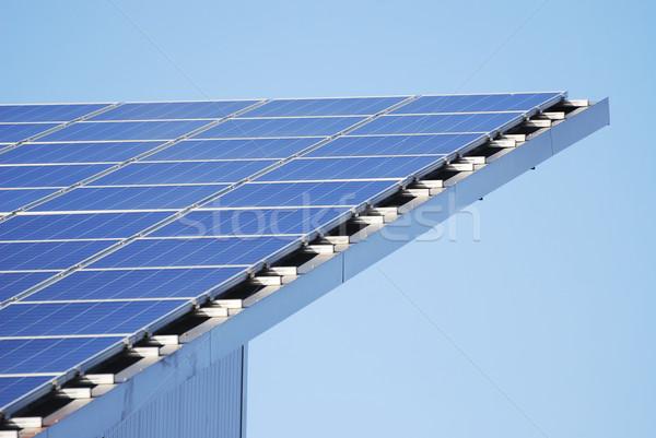 Innovative Solar Panels Stock photo © manfredxy