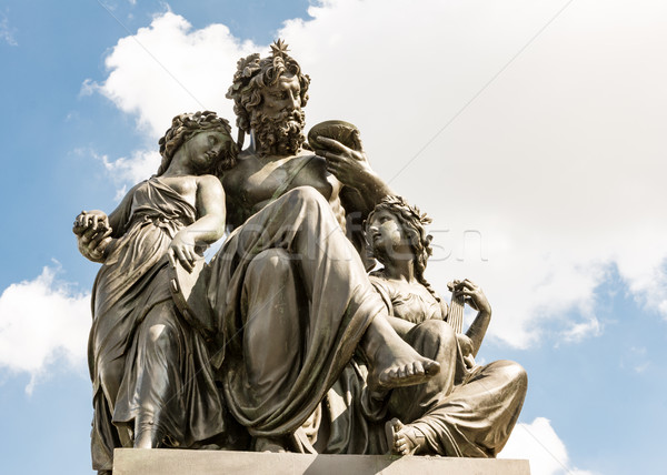Monument in Dresden Stock photo © manfredxy