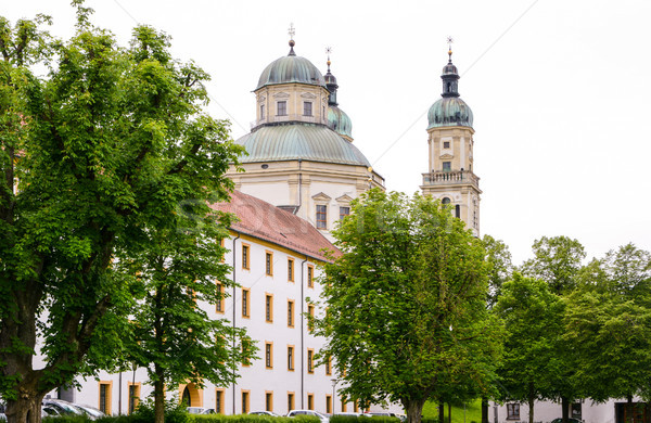 święty bazylika barokowy budynku kościoła architektury Zdjęcia stock © manfredxy