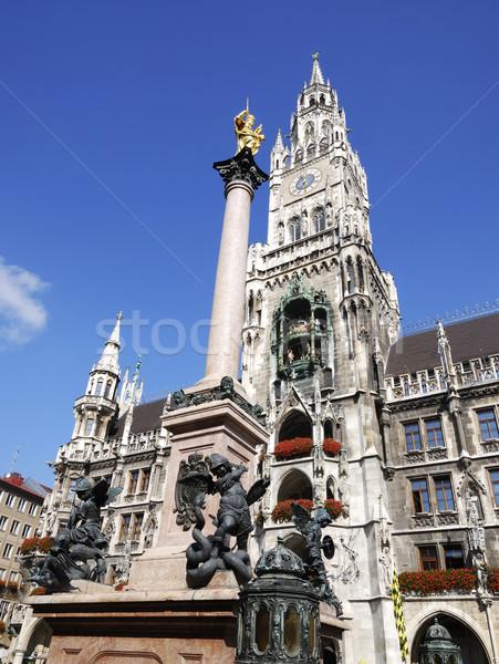 Munique cidade ouvir ouro arquitetura europa Foto stock © manfredxy