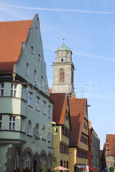 Historic Dinkeslb Stock photo © manfredxy