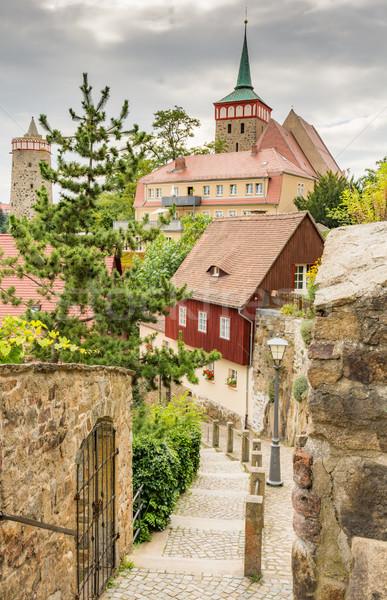 Historic old town of Bautzen Stock photo © manfredxy
