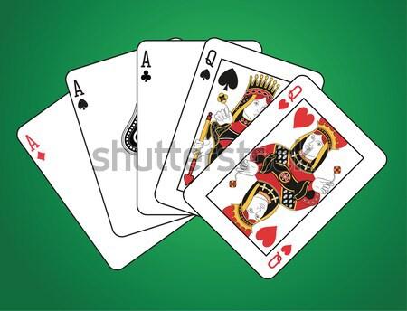 Royal flush spades Stock photo © mannaggia