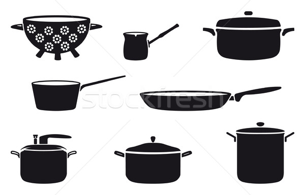 Pots and pans Stock photo © mannaggia