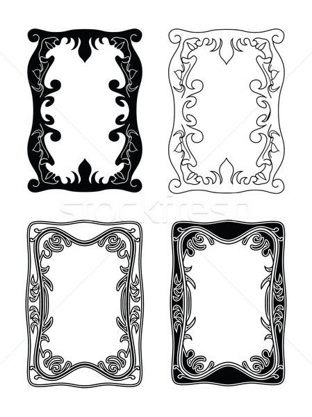 picture frames 2 Stock photo © mannaggia