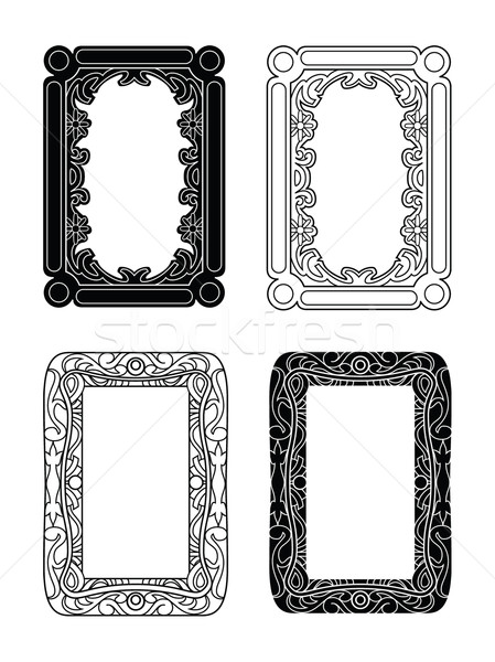 picture frames 1 Stock photo © mannaggia