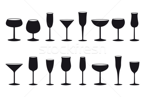Glasses Stock photo © mannaggia