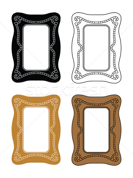 picture frames 5 Stock photo © mannaggia