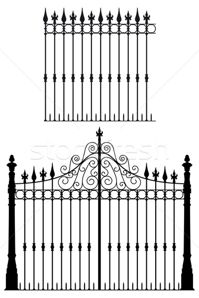 Gate and Fences Stock photo © mannaggia
