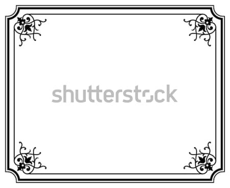 frame magasin1 Stock photo © mannaggia