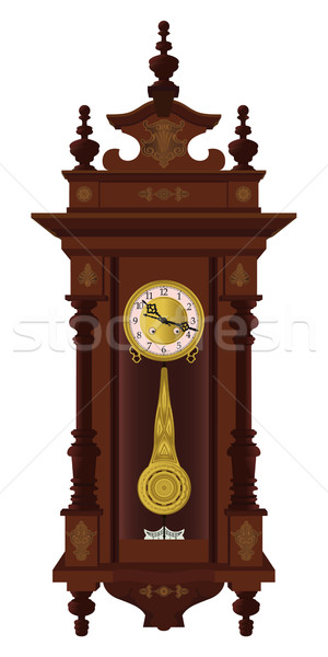 Pendulum clock Stock photo © mannaggia