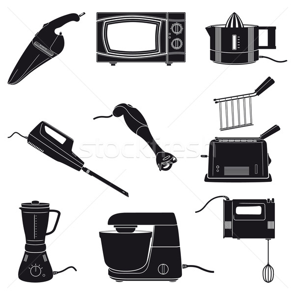 Kitchen appliances Stock photo © mannaggia