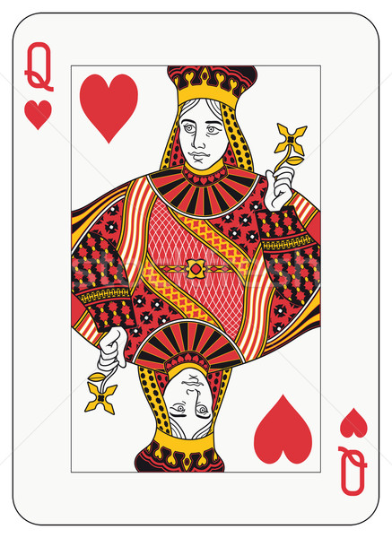 Queen of Hearts Stock photo © mannaggia
