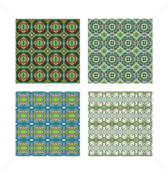 パターン 2 異なる 色 テクスチャ 抽象的な ストックフォト © mannaggia