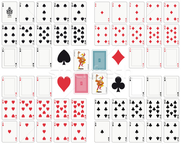 Playing Cards Stock photo © mannaggia