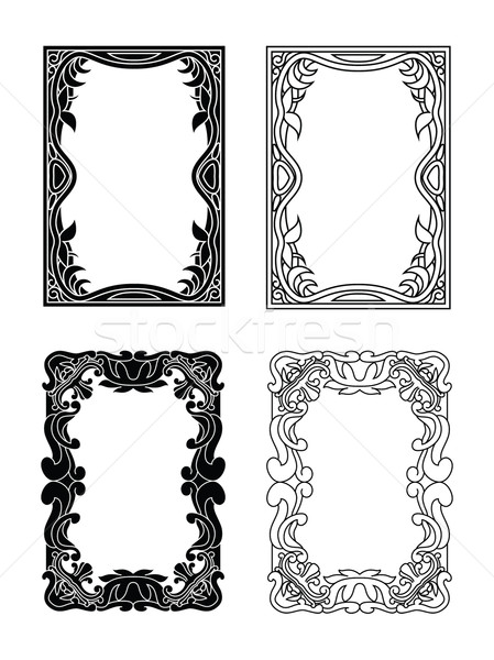 picture frames 4 Stock photo © mannaggia