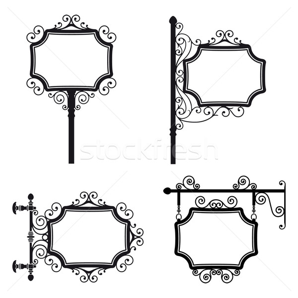 Vintage Signs Stock photo © mannaggia