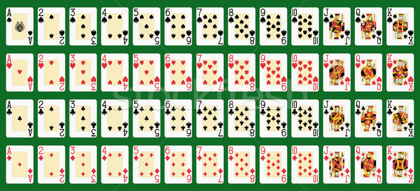 full deck large index Stock photo © mannaggia