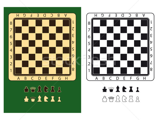 Chessboards Stock photo © mannaggia