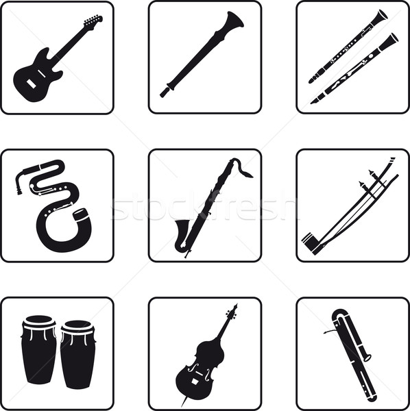 Musical Instruments Stock photo © mannaggia