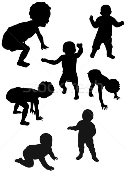 baby first steps Stock photo © mannaggia