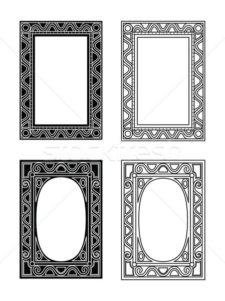 picture frames 3 Stock photo © mannaggia