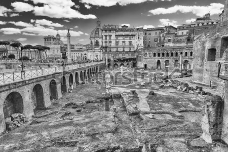 Park of the Aqueducts, Rome Stock photo © marco_rubino