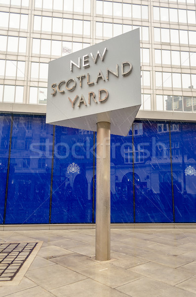Yeni İskoçya Bina Londra Stok fotoğraf © marco_rubino