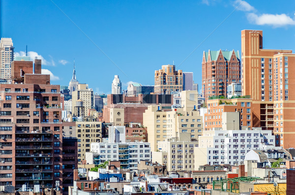 New York yan köşe iş Stok fotoğraf © marco_rubino