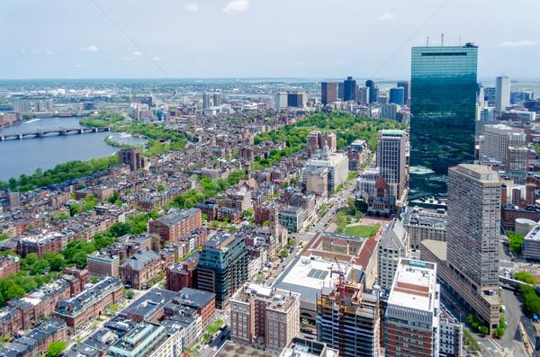 Central Boston USA affaires paysage Photo stock © marco_rubino