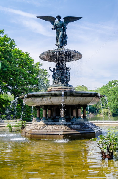 Bethesda Fountain in Central Park, New York Stock photo © marco_rubino