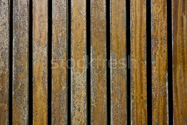 Wooden fence texture Stock photo © Marcogovel