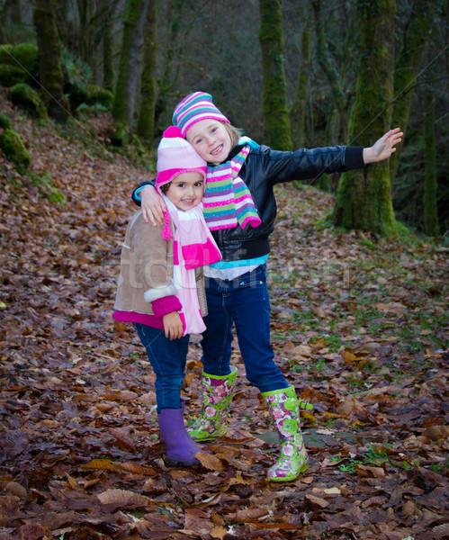 little girls Stock photo © Marcogovel